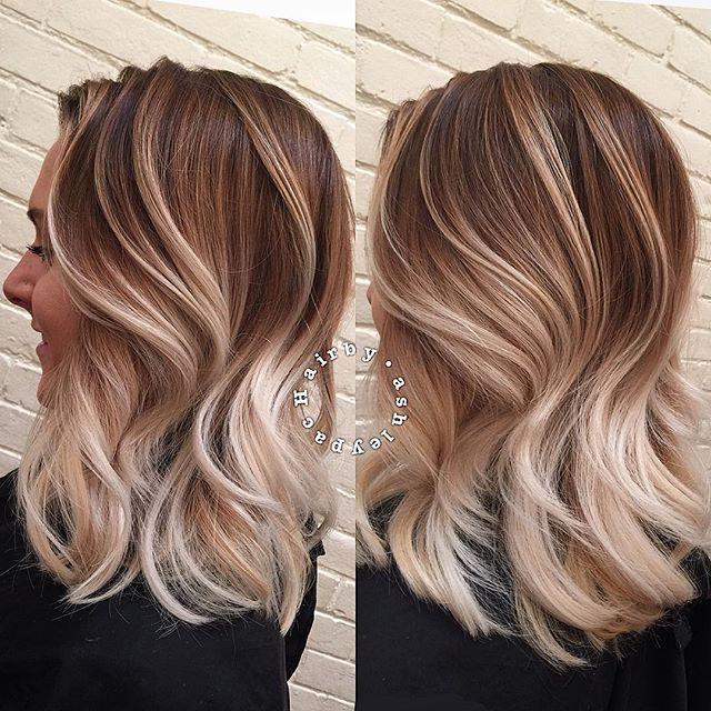 Balayage Color Blonde Modernsalon On Instagram Next Hairstyle
