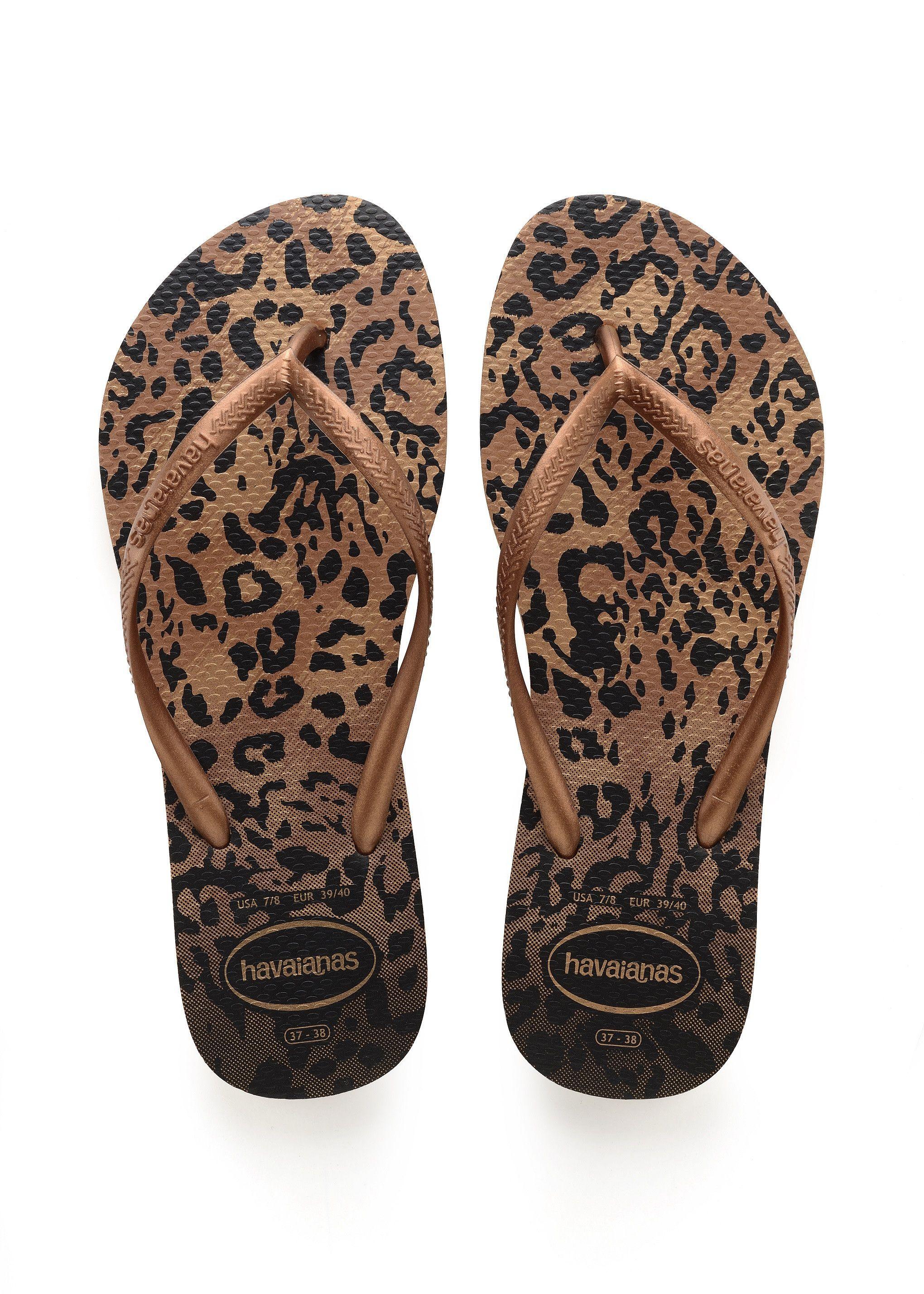 52af113e067953 Ruggine del sandalo degli animali Slim di Havaianas in 2019