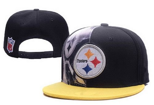 c908112f5c3 NFL Mens Pittsburgh Steelers Flatbrim Cap Pittsburgh Steelers Hats