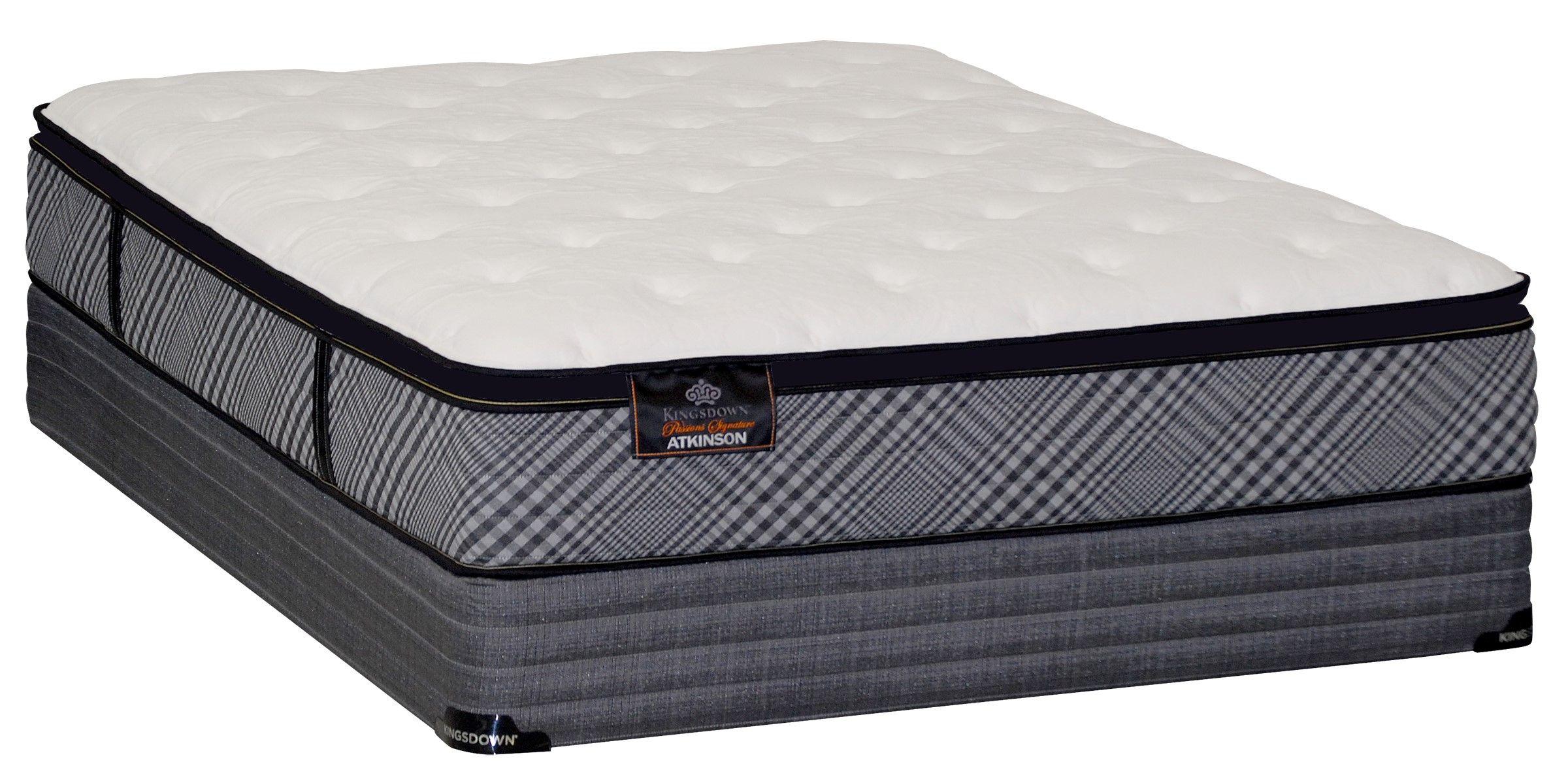 kingsdown atkinson pillow top queen mattress set stuff to buy