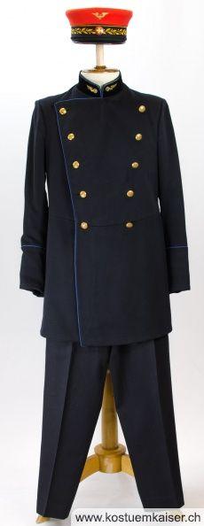 Bahnhofsvorstand Uniform ab 1902