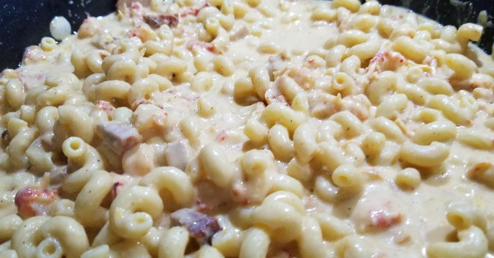 Photo of Crawfish Mac and Cheese with Tasso