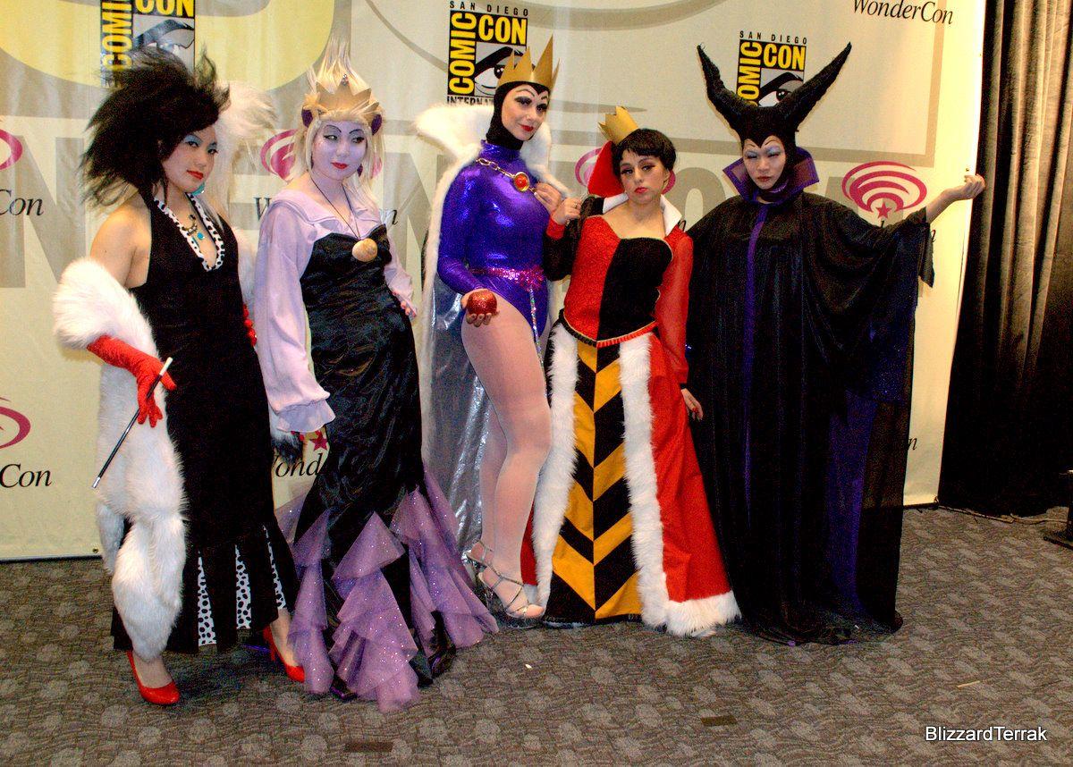 Disney Villain Halloween Costumes Diy.Disney Villain Girls Love My Love For Disney 3 In 2019
