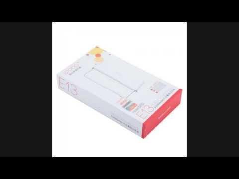 SALE!! Eloop E13 Power Bank 13000mAh (สีน้ำตาลลายไม้) ฟ�