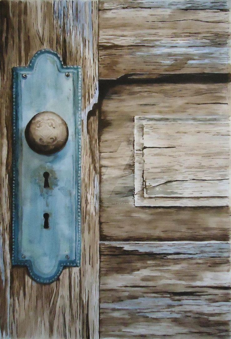 Old Door By Muffintopknits Deviantart Com On Deviantart Old Door Bottle Opener Wall Wooden Door Paint