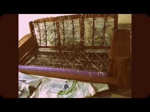 C mo tapizar un sof youtube tapizado de muebles - Tapizar sofa ...