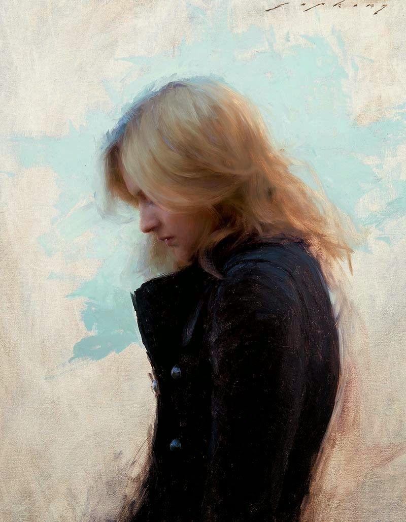 Jeremy Lipking, 1972 ~ Figurative painter
