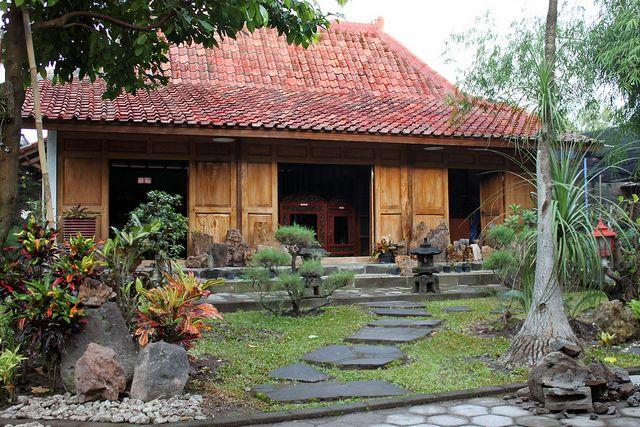 45 Desain Rumah Joglo Khas Jawa Tengah Surf House Desain Rumah Arsitektur