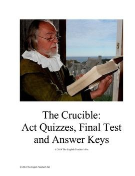 The crucible act quizzes final test and answer keys final test the crucible act quizzes final test and answer keys fandeluxe Images
