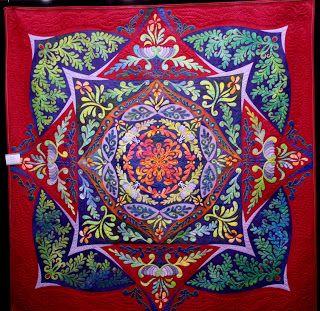 Kool Kaleidoscope Kaleidoscope Quilt Quilts Art Quilts