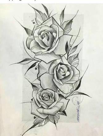 Resultado De Imagem Para Tattoo Rosa Desenhos Para Tatuagem