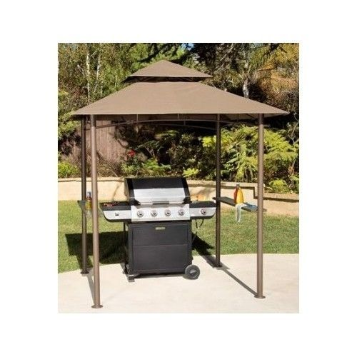 Grill Gazebo Shelter Canopy Bbq Station Shade Patio Outdoor