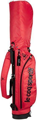2cc8cddab453 Le Coq Sportif golf  Golf bag QQBLJJ07 RD00 red RD00 red (eBay Link ...