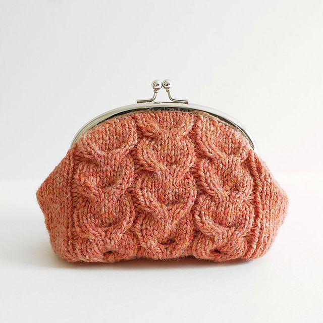 Ravelry: Macaroon Knitted Purse pattern by Kyoko Nakayoshi