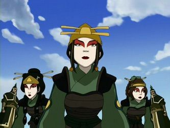 Azula, Mai, and Ty Lee Avatar the last airbender, Azula