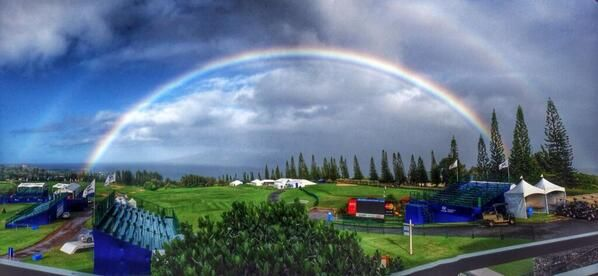 Yes, I would say golf in Hawaii is a pretty nice experience.