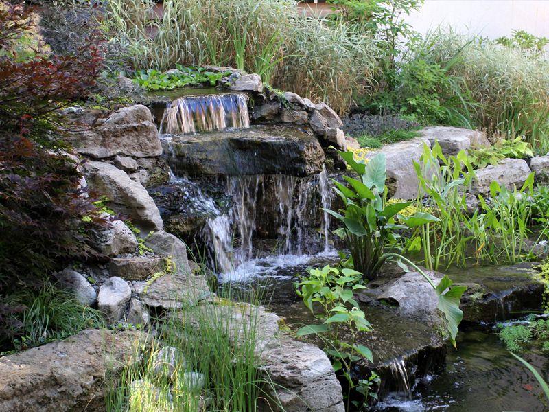 jardin zen chute d 39 eau et cascades portfolio simon