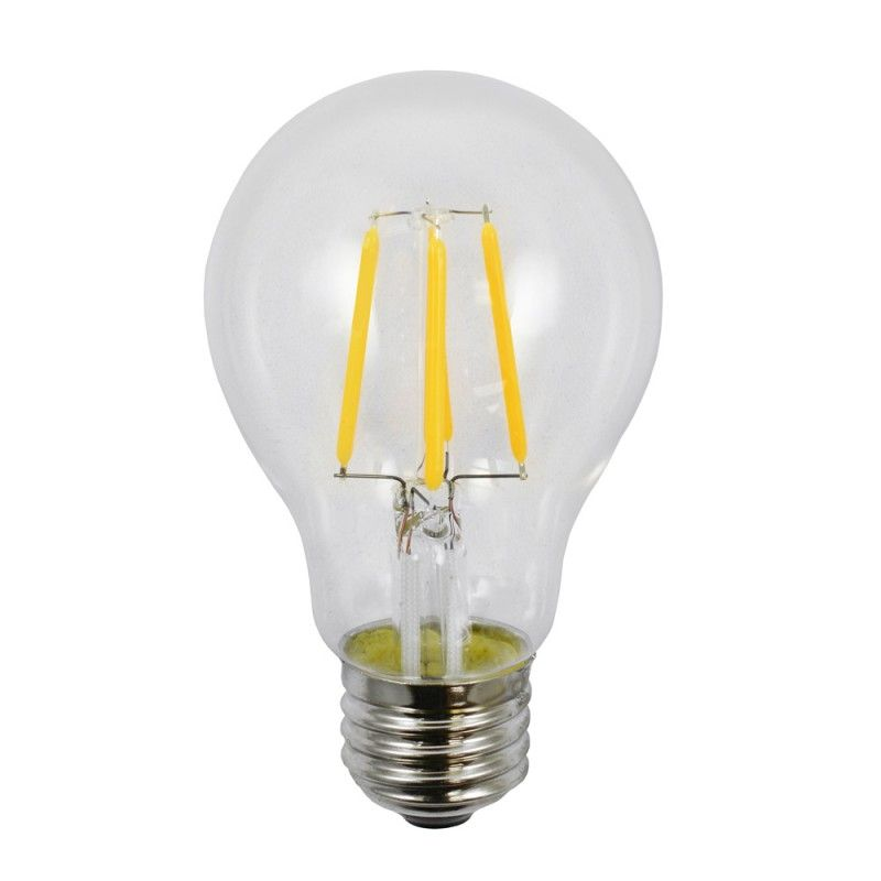 Led Fa19d 4w 24 4 Watt 120 Volt Led A19 Filament Light Bulb 2400k Warm White Light Bulb Filament Bulb Lighting Filament Lighting