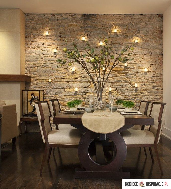 Living Room And Dining Room Together: Dining Room Wall Decor, Dining Room Walls