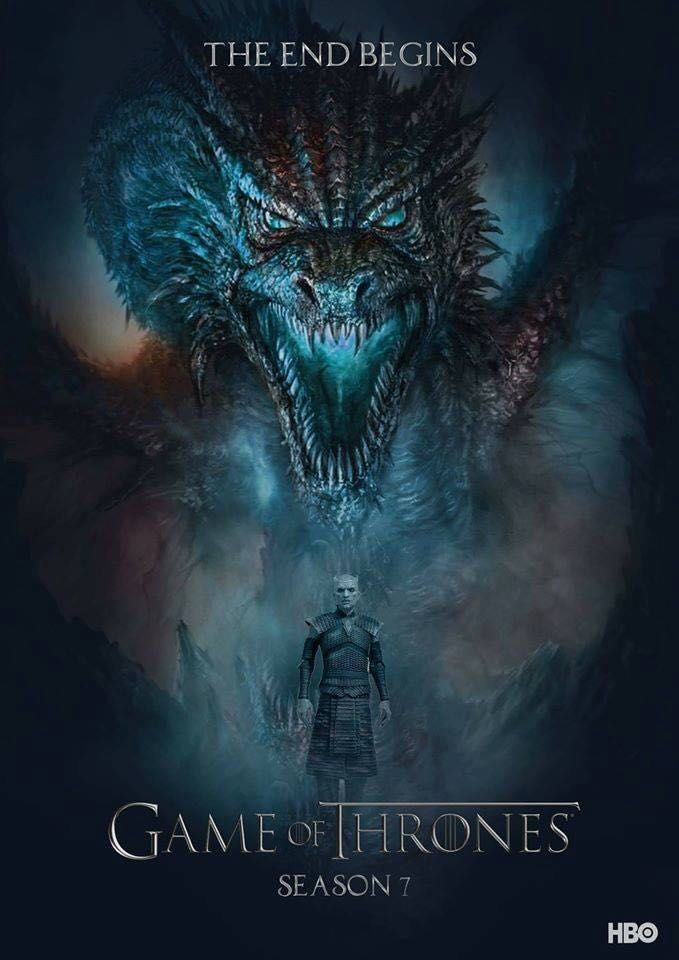 Game Of Thrones Season 7 Fan Made Poster Not Official But Cool