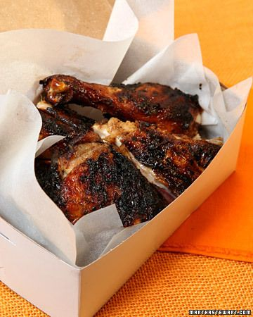 Jamaican Jerk Chicken - Martha Stewart Recipes Best Jerk marinade yet. #Jamaica #Foodie