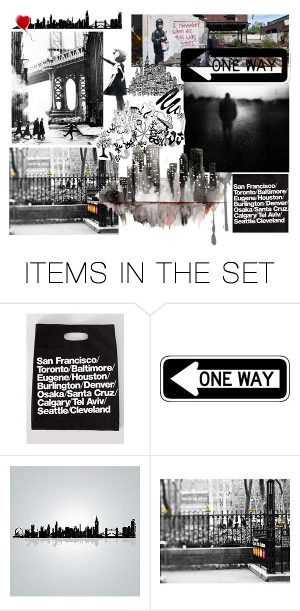 """""""City"""" by purple-penguin90 ❤ liked on Polyvore featuring art"""