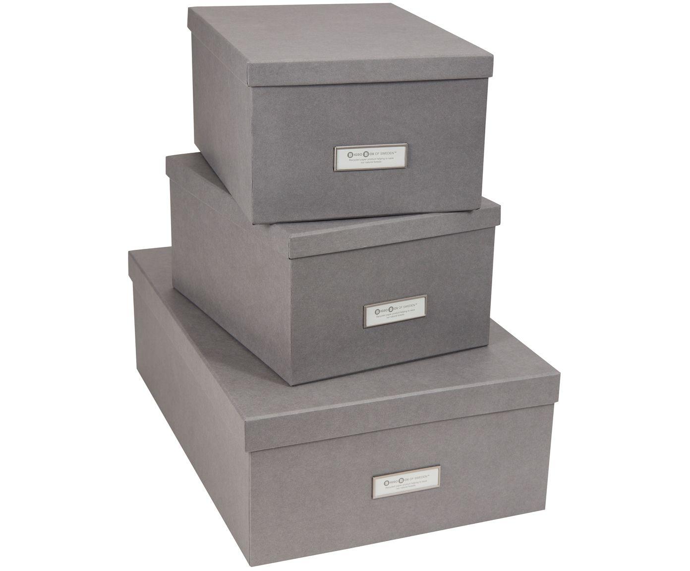 Aufbewahrungsboxen Set Inge 3 Tlg Mit Bildern