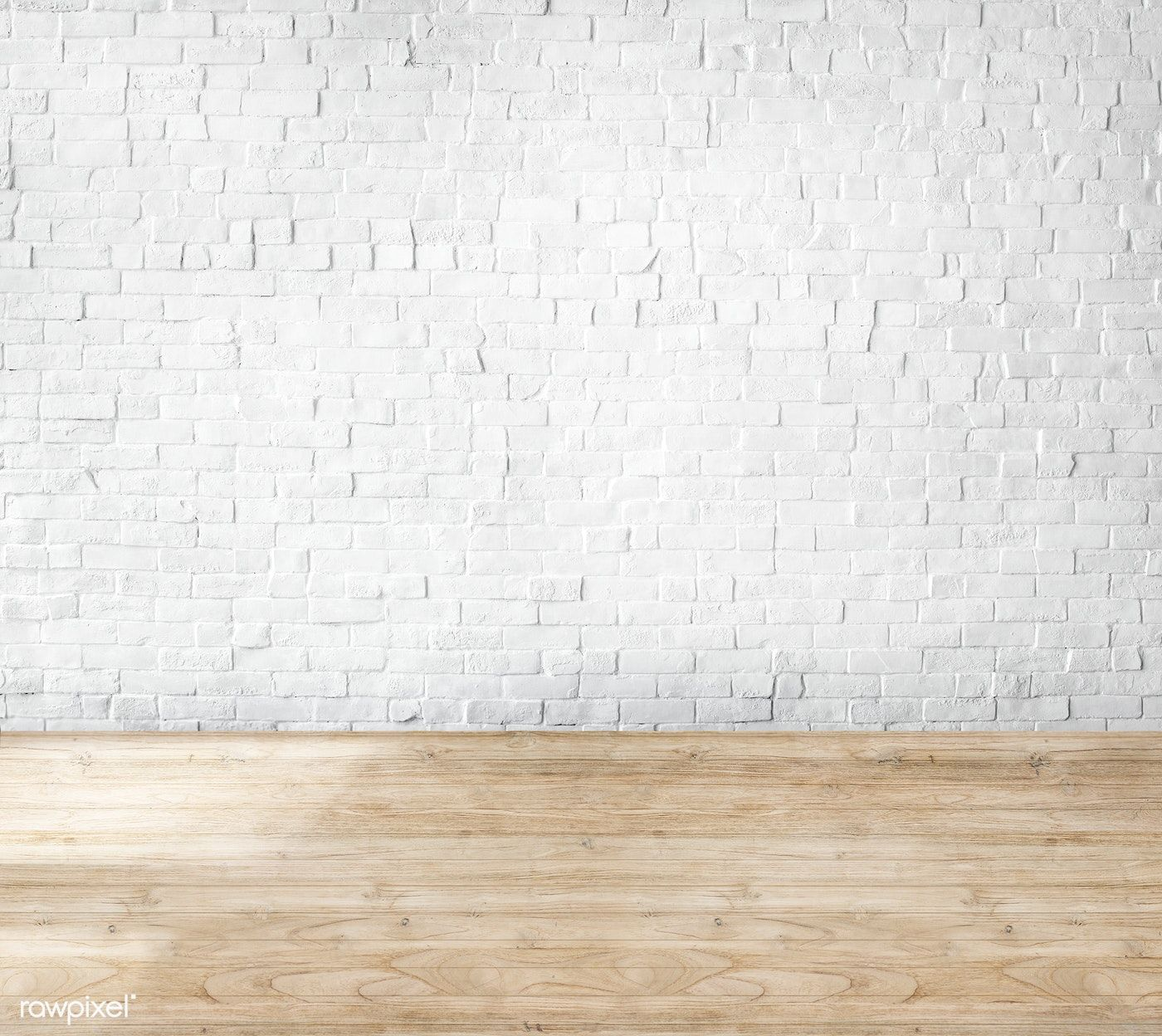 Download Premium Image Of Room Made Of Brick Wall And Wooden Floor 67046