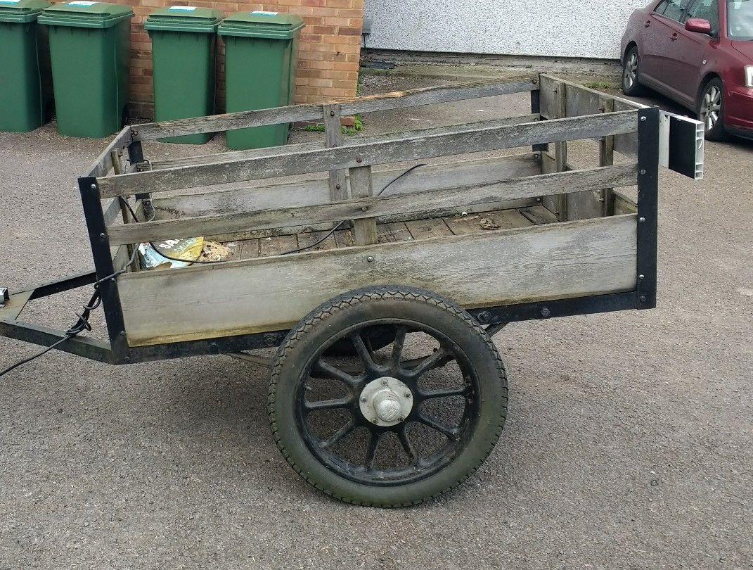 vintage car trailer pin hitch | eBay | vintage trailers | Pinterest