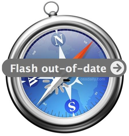 See A Flash Out Of Date Message In Safari On Mac Here S How To Fix That Safari Circular Logo Safari Web Browser