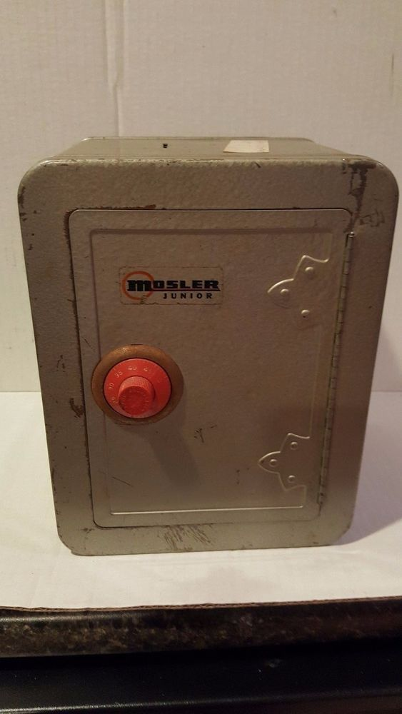 Vintage Metal Toy Safe From The 70 S With Combination