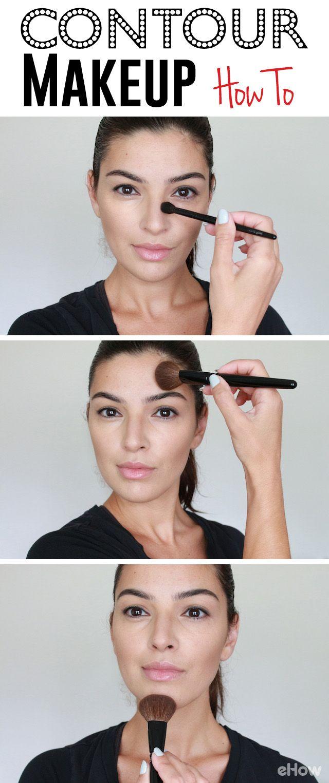 How to Apply Contour Makeup  Contour makeup, Natural contour