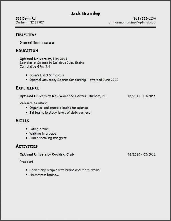 pin by resume on making a resume