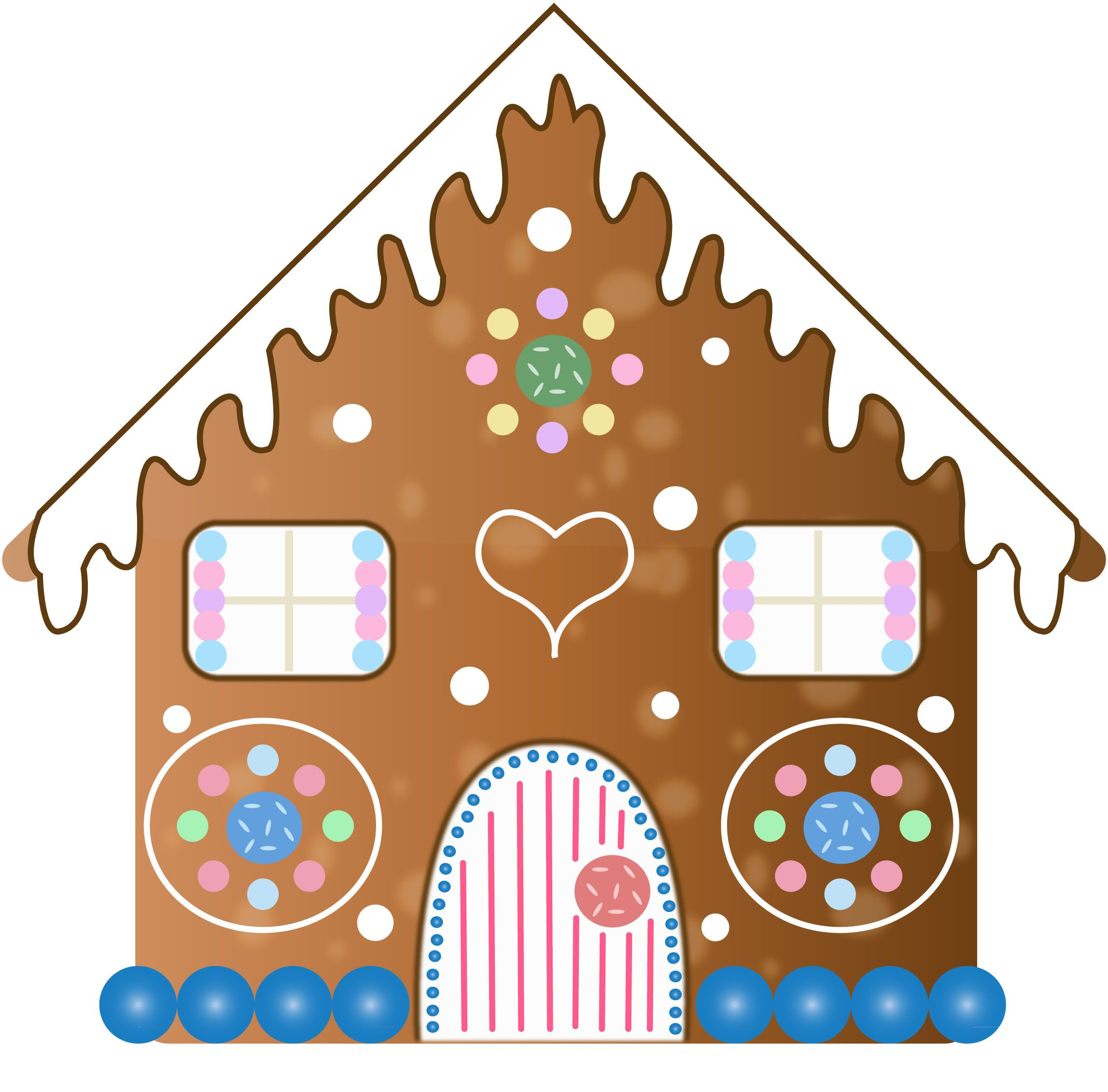 gingerbread house u2022 clip art gingerbread clipart gingerbread rh pinterest com gingerbread house clipart border gingerbread house clipart border