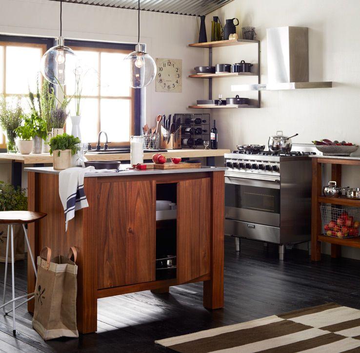 Kitchen Storage Advice | west elm | Kitchen remodel, Home ...