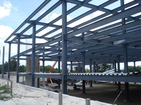 Casa de estructura metalica construccin de casas en estructura metlica viviendas premoldeada - Estructura metalica vivienda ...