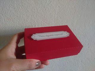 Ana Handmade: Caixa de docinhos