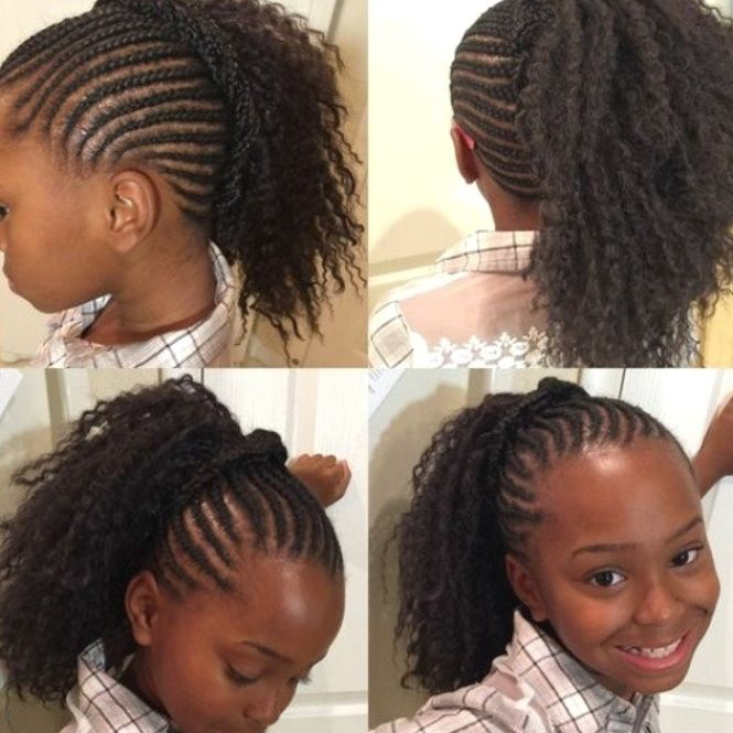 Tendance Tresses Petite Fille Afro Coiffure Fille Afro In 2021 Hair Styles Braided Hairstyles Pretty Hairstyles