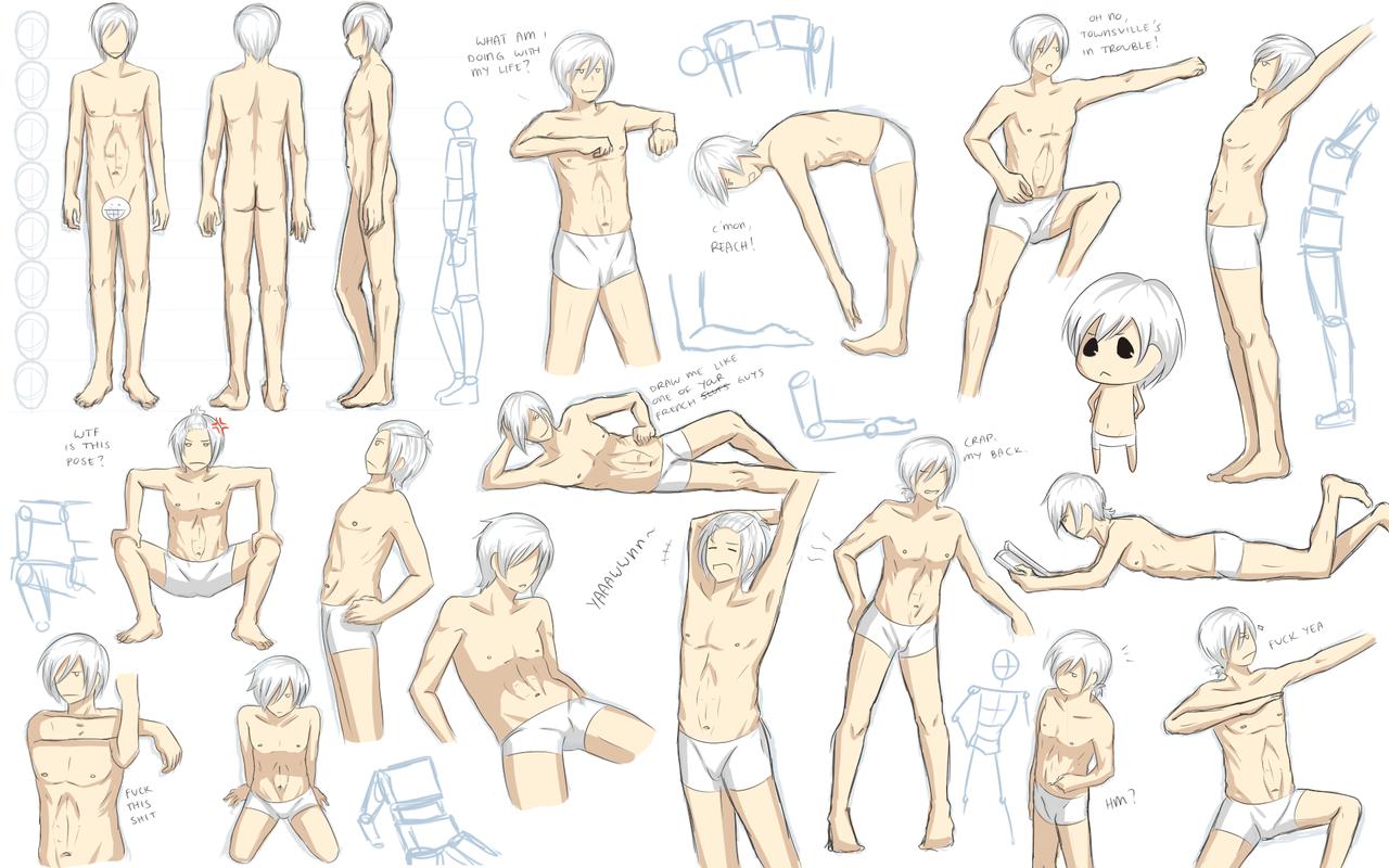 Male Anatomy Practice By Katkat Taniantart On Deviantart