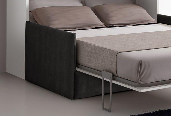 Letto A Scomparsa Verticale Fai Da Te : Letto otto verticale 140 letto a scomparsa con divano nel 2018
