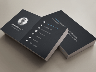 https://dribbble.com/shots/1376263-Business-Card
