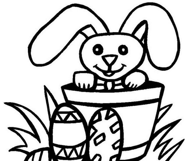 Easter Coloring Pages Easy