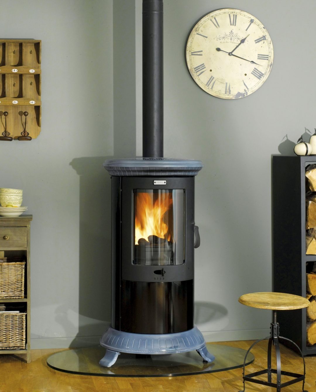 Godin Wood Burner Stove - Petit Godin 377111 6 5kw | Wood