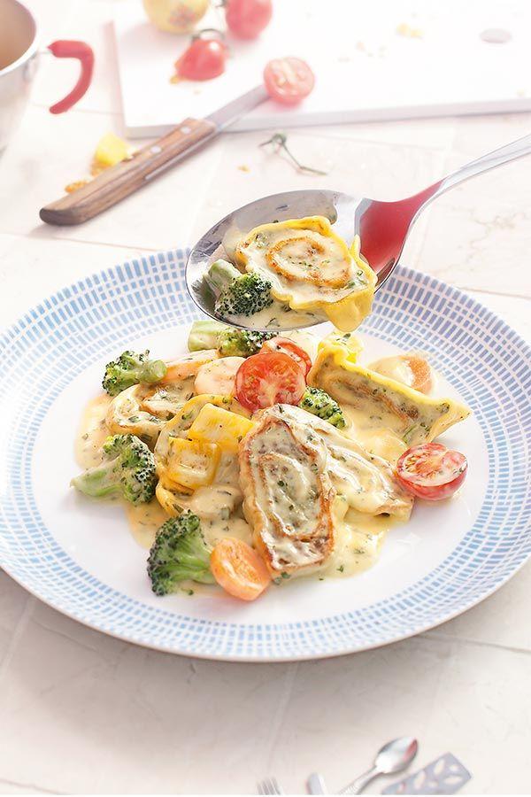 Photo of Colorful dumpling pan   maggi.de