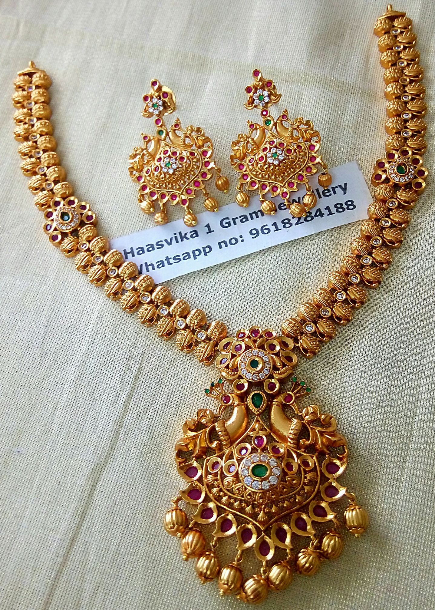 30056edcd68 1 gram gold jewellery wholesale. Contact   Whats app on 9618284188 ...