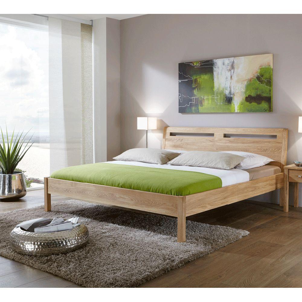 Jugendbett aus Eiche Massivholz geölt 140x200 Home decor
