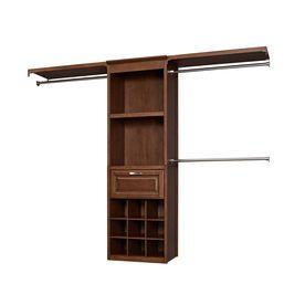 8 Ft Sable Wood Closet Kit 329 1 X Solid Closet Tower 1 X