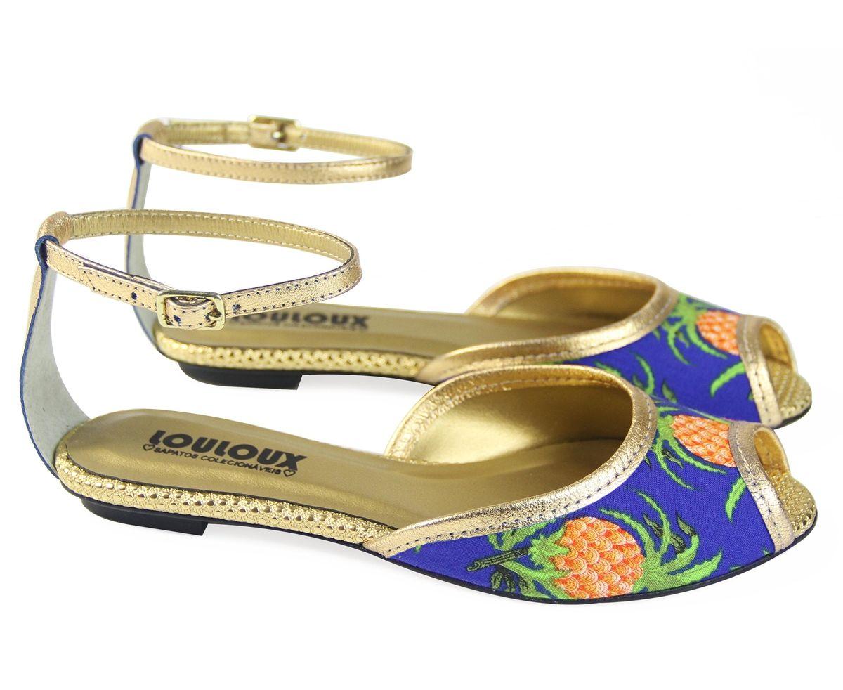 BLUE PINEAPLE - Louloux - Sapatos Colecionáveis