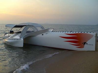 Trimaran motorboat / stabilized monohull - Page 2 - Boat