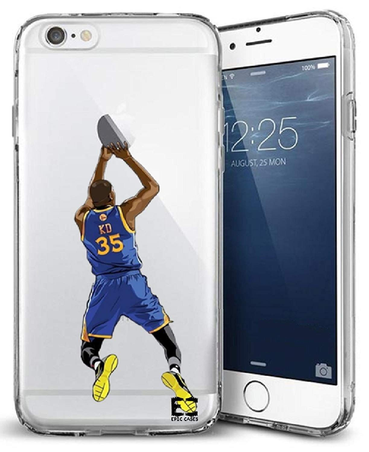 promo code b05ee 9504d Golden State KD iPhone 6 Phone Case KD Durantula Sports Case ...